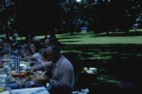 1954 : Ulberg Reunion. Right to left : (Uncle) Ervin Marion Lowing, (Aunt) Bernice (Klekotka) Lowing, ??????