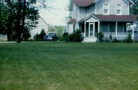 1955. Harold C. Lowing Farm - 3695 Bauer road, Jenison, Michigan - Childhood home of Barbara Jean (Lowing) Brink