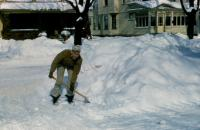 1958. Irwin Jay Brink - Winter, 84 E. 16th Street, Holland, Michigan.