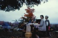 Fall 1960. Harold Crandal Lowing (Dad), Barbara Jean (Lowing) Brink, Doris (De Neff) Lowing (Mom)