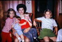Anne Renee Brink, Mary Lynne Brink,  Barbara Jean (Lowing) Brink, Robert Lowing Brink, Jeanne Marie Brink. Harold C. Lowing Farm - 3695 Bauer road, Jenison, Michigan.