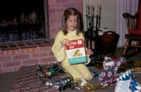 Christmas 1969. Anne Renee Brink at Irwin Jay Brink Residence - 721 Lugers road, Holland, Michigan.