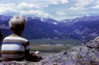 July, 1972. Moraine Park (Rocky Mountain National Park) Robert Lowing Brink