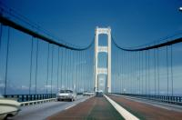 1972? Mackinac Bridge, Michigan.