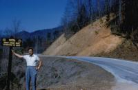 1972. Harold Crandal Lowing (Dad), Great Smoky Mountains, North Carolina.