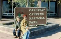 Oct. 1975. Robert Lowing Brink and Barbara Jean (Lowing) Brink, Carlsbad Caverns, New Mexico.