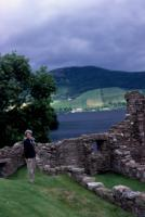 July, 1987. Barbara Jean (Lowing) Brink at Urguhart Castle, Scotland.