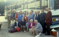 August, 1987. London - tour group. First row, second from left. Barbara Jean (Lowing) Brink