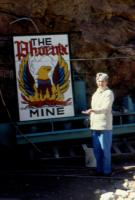 May, 1990. Barbara Jean (Lowing) Brink at Phoenix Gold Mine, Idaho Springs, Colorado