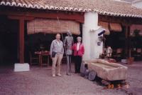 May, 1999. Lunch in Puerto Lapice, La Mancha (Spain). Irwin Jay Brink and Barbara Jean (Lowing) Brink.