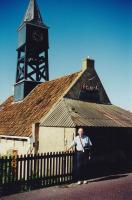 June, 2000. Irwin Jay Brink. Harbor master's house (Hindeloopen, Netherlands). He collected the toll.